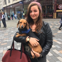 Collections aren't just about money but also raising awareness for our homeless dogs! Well spotted Izzy, Tink secures herself a loving home!