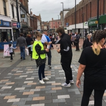 Derby City Centre Fundraising - Just For Dogs