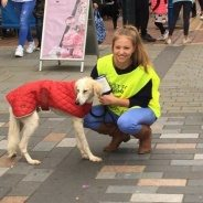 Hooray! – £689.34 was raised in Derby City Centre